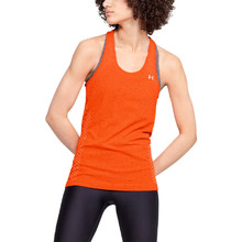 Dámske tielko Under Armour Seamless Melange Tank - Beta Orange