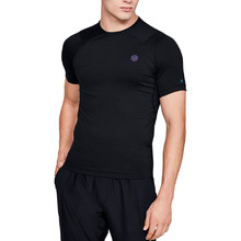 Pánske kompresné tričko Under Armour HeatGear Rush Compression SS - Black