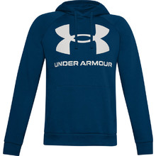 Pánska mikina Under Armour Rival Fleece Big Logo HD - Graphite Blue