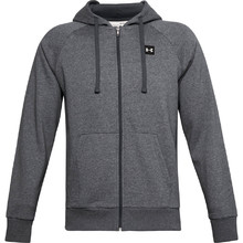 Pánska mikina Under Armour Rival Fleece FZ Hoodie - Pitch Gray Light Heather