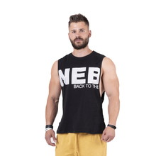 Pánske tielko Nebbia Back to the Hardcore tank top 144