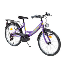 "Juniorský bicykel Kreativ 2414 24"" - model 2016 - Violet"