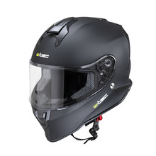 Moto prilba W-TEC Integra Solid - Matt Black