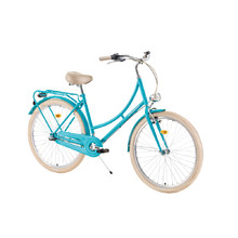 "Mestský bicykel DHS Citadinne 2636 26"" - model 2019 - Light Green"