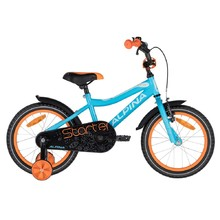 "Detský bicykel ALPINA Starter 16"" - model 2020 - Blue Orange"