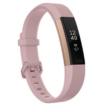Fitness náramok FITBIT Alta HR Pink Rose Gold