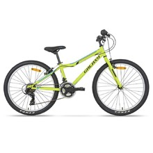 "Juniorský bicykel Galaxy Aries 24"" - model 2020 - zelená"