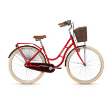 "Mestský bicykel KELLYS ARWEN DUTCH 28"" - model 2017 - Red"