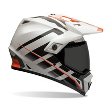 Motokrosová prilba BELL MX-9 Adventure - Raid Orange/White