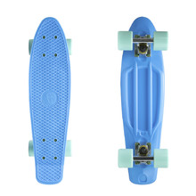 "Pennyboard Fish Classic 22"" - Blue-Silver-Summer Green"