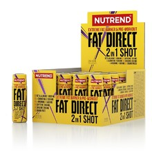 Spaľovač Nutrend Fat Direct Shot 20x60 ml