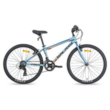 "Juniorský bicykel Galaxy Aries 24"" - model 2018 - modrá"