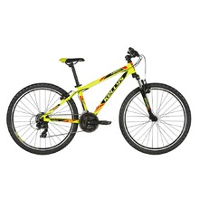 "Juniorský bicykel KELLYS NAGA 70 26"" - model 2019 - Neon Lime"