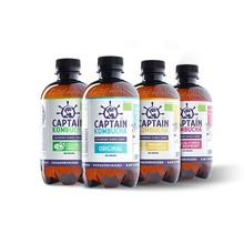 Probiotický drink Captain Kombucha 400 ml