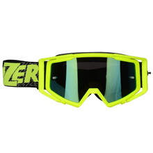 Motokrosové okuliare Lazer Race Mirror - Yellow-Black-Yellow