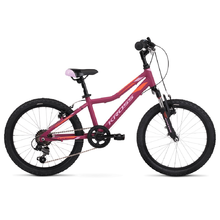 "Detský bicykel Kross Lea Mini 2.0 20"" - model 2020 - Pink / Orange Matte"