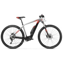 "Horský elektrobicykel Kross Level Boost 1.0 29"" - model 2019 - Black / Graphite / Red Matte"