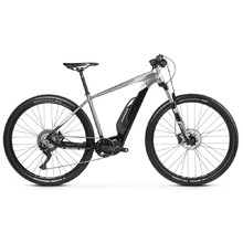 "Horský elektrobicykel Kross Level Boost 2.0 29"" - model 2019 - Black / Graphite / Silver Glossy"