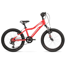 "Detský bicykel Kross Level Mini 2.0 20"" - model 2020 - Red / White Glossy"