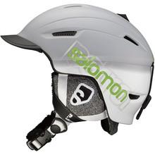 Lyžiarska prilba SALOMON Patrol - šedá a1ace1a4268