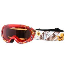 Junior lyžiarske okuliare WORKER Doyle s grafikou - červená s grafikou 78a03b72e4d