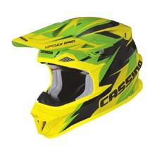 a8bd29c770 Motokrosová prilba Cassida Cross Pro - zelená žlutá fluo černá