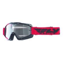 Motokrosové okuliare Fly Racing RS Zone 2018 - čierne červené 79039ea9766