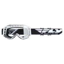Motokrosové okuliare Fly Racing Focus 2019 - biele ddc70433344