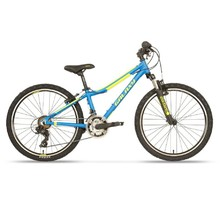 "Juniorský horský bicykel  Galaxy Pavo 24"" - model 2020 - modrá"