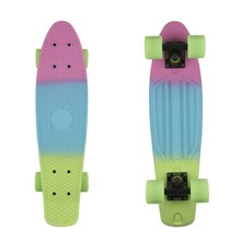 "Penny board Fish Classic 3Colors 22"" - Summer Pink-Summer Blue-Green"