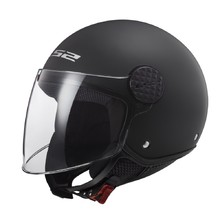 Moto prilba LS2 OF558 Sphere Solid - Matt Black