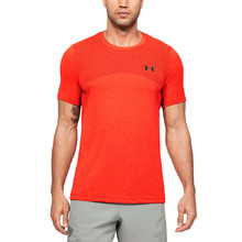 Pánske tričko Under Armour Seamless SS - Beta Orange
