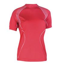3e75b3b60951 Dámske thermo tričko Brubeck s krátkym rukávom - červená