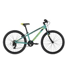 "Juniorský bicykel KELLYS KITER 30 24"" - model 2021 - Turquoise"