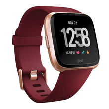Inteligentné hodinky Fitbit Versa Merlot Band/Rose Gold Case