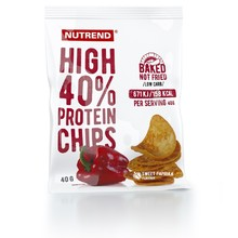 Proteinové chipsy Nutrend High Protein Chips 6x40g