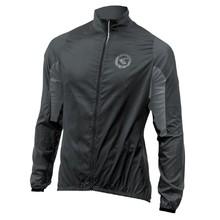 723b1a46a Unisex cyklistická bunda Kellys Wind pack - čierno-šedá