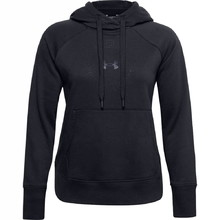 Dámska mikina Under Armour Rival Fleece Metallic Hoodie