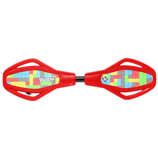 Detský waveboard Street Surfing Mini SL - Ground Play Red
