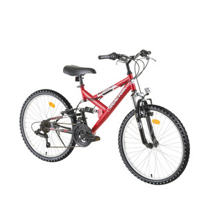 "Juniorský bicykel Reactor Fox 24"" - model 2016 - červená"