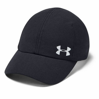 Dámska bežecká šiltovka Under Armour Launch Run Cap - Black