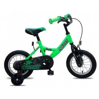 """Detský bicykel Galaxy Fenix 12"""" - model 2017 - zelená"""