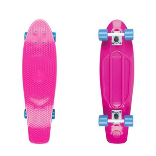 "Pennyboard Big Fish 27"" - pink/white/blue"