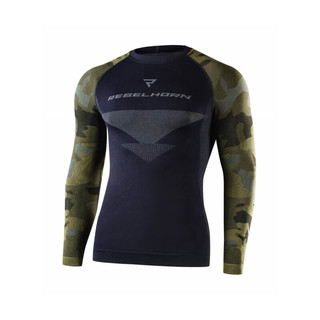 Moto thermo tričko Rebelhorn Freeze Jersey - Camo