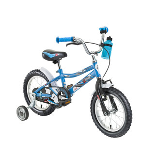 "Detský bicykel DHS Speed 1401 14"" - model 2016 - blue"