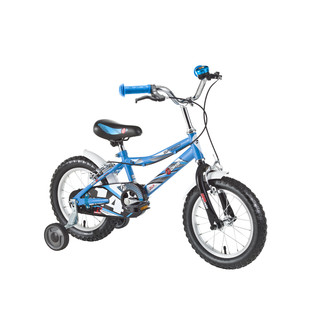 "Detský bicykel DHS Speed 1403 14"" - model 2016 - blue"