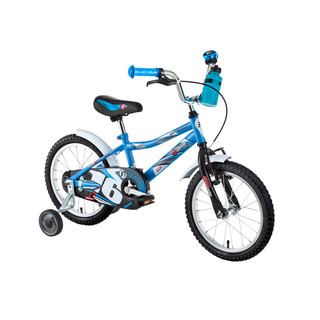 "Detský bicykel DHS Speed 1601 16"" - model 2016 - blue"
