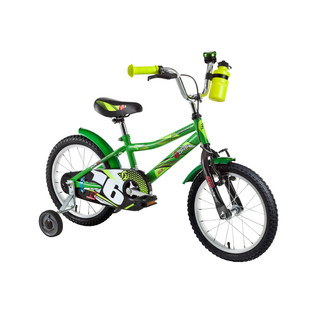 "Detský bicykel DHS Speed 1601 16"" - model 2016 - Green"