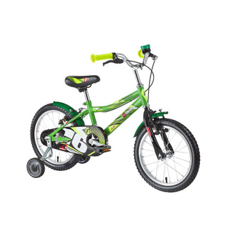 "Detský bicykel DHS Speed 1603 16"" - model 2016 - Green"