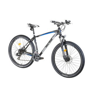 "Horský bicykel DHS Terrana 2725 27,5"" - model 2016 - Black-Blue"